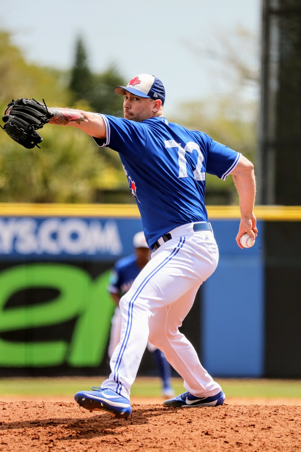 The Toronto Blue Jays dealt reliever John Axford (Port Dover, Ont.) to the Los Angeles Dodgers on Monday. Photo Credit: Amanda Fewer