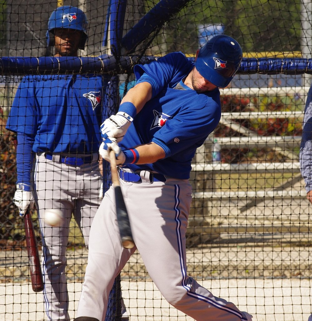 Alberto Mineo had three hits for the class-A Advanced Dunedin Blue Jays on Friday. Photo Credit: Jay Blue