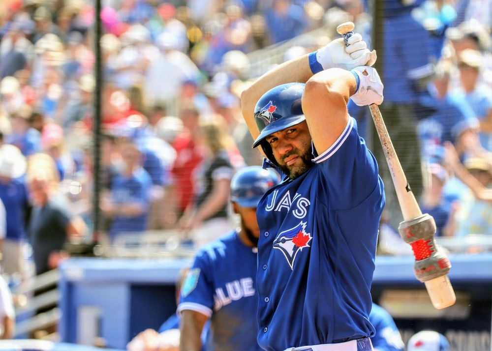 Kendrys Morales has had a strong second half for the Toronto Blue Jays. Photo Credit; Amanda Fewer