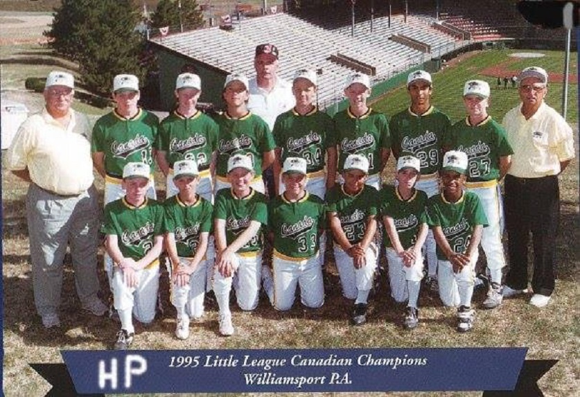 The 1995 Canadian champions from High Park .... taken on a hill in Williamsport, Pa. Photo: Fuel Training Club.