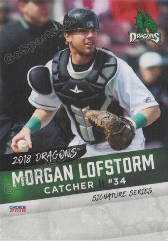 Okanagan Athletics' grad C Morgan Lofstrom (Kelowna, BC) was moved by the Cincinnati Reds to class-A Daytona Tortugas from Triple-A Louisville Bats.