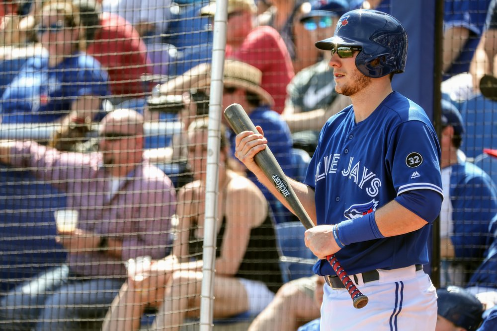 The Toronto Blue Jays called up catching prospect Danny Jansen on Sunday. Photo Credit: Amanda Fewer