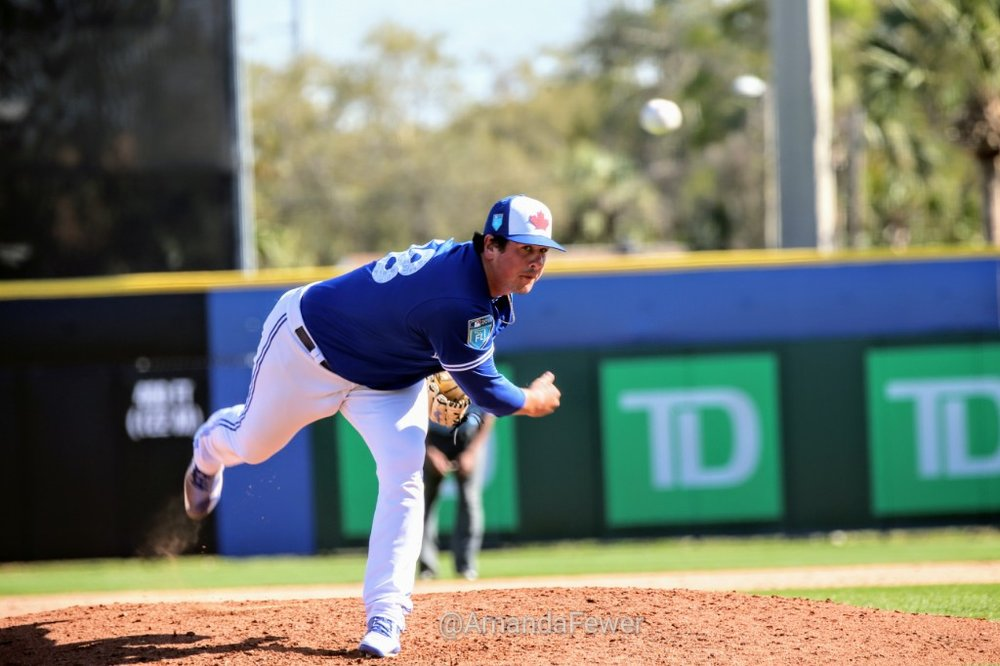RHP Andrew Case was signed by the Toronto Blue Jays after the inaugural Tournament 12 in 2013. The Saint John, N.B., native just completed his fifth season in the Blue Jays' organization and he has made it as high as the triple-A level. Photo Credit: Amanda Fewer