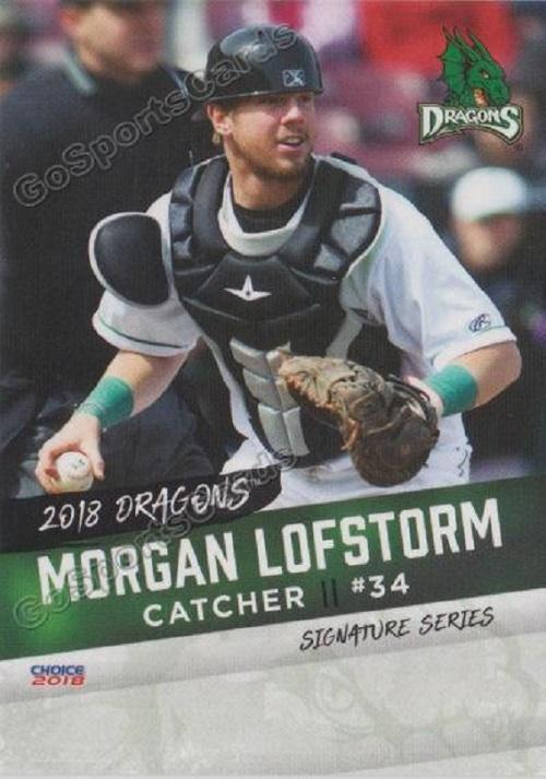 Langley Blaze grad and Reds farmhand Morgan Lofstrom (Kelowna, BC).