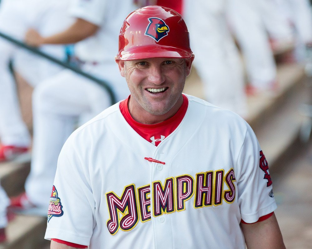 Stubby Clapp (Windsor, Ont.) will be interviewed for the Texas Rangers' managerial position. Photo Credit: Memphis Redbirds