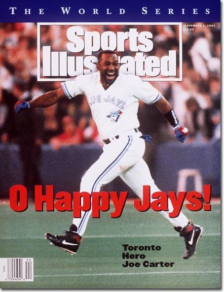 Jose Carter Toronto Blue Jays Win World SeriesNovember 1, 1993X 45157credit:  John Iacono - staff