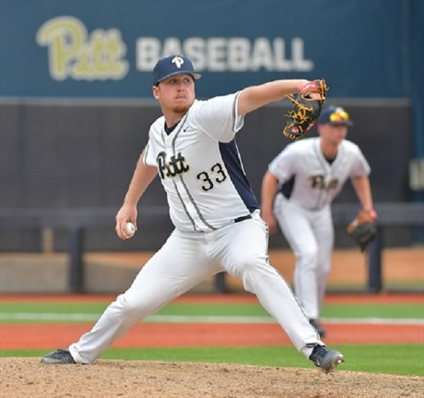 Ontario Blue Jays grad RJ Freure (Burlington, Ont.) of the Pitt Panthers.