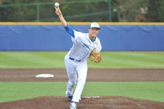 RHP Jackson Wark (St. Albert, Alta.) of the Saint Louis Billikens