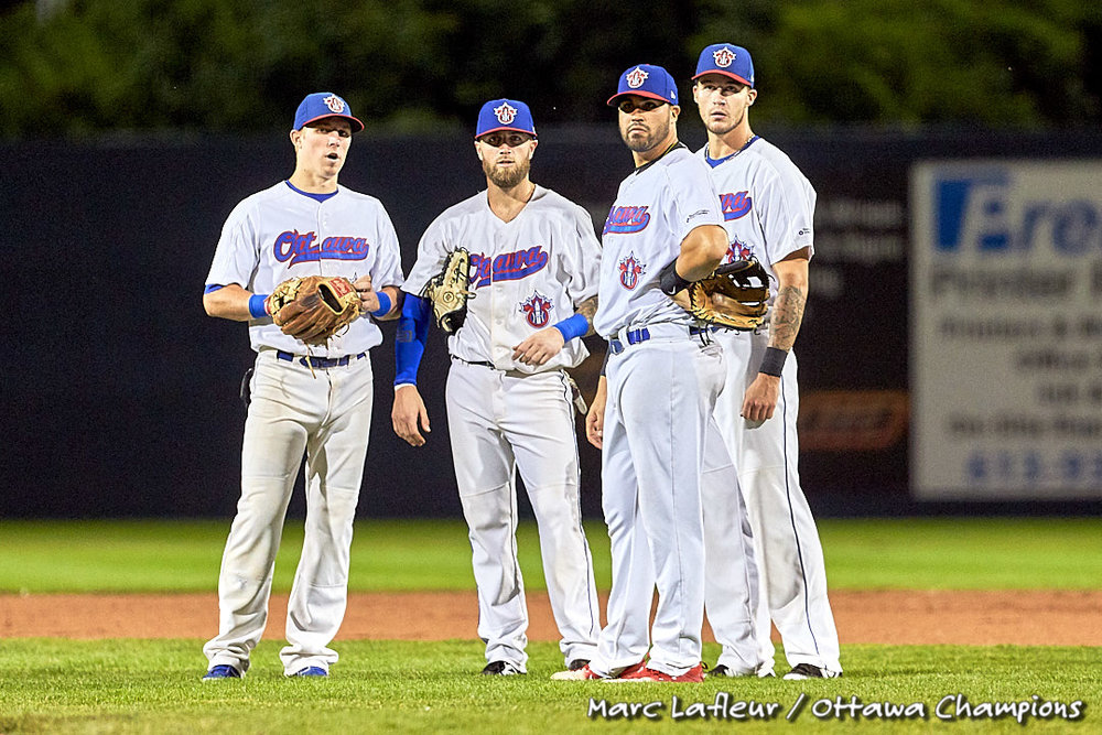 The independent Can-Am League's Ottawa Champions released their 2019 schedule on Wednesday. Photo Credit: Marc Lafleur