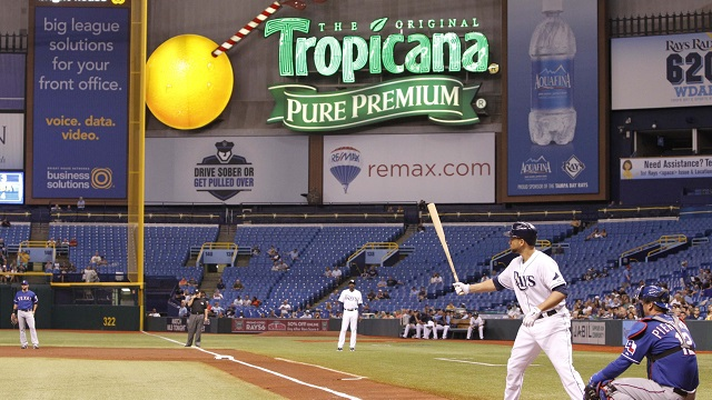 The Tampa Bay Rays are playing in front of far too many empty seats at Tropicana Field and their new stadium proposal has been rejected.