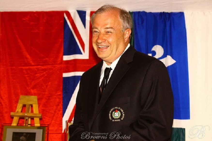 Baseball America foundeer Allan Simpson (Kelowna, BC) added another Hall to his resume — the Central Okanagan Sports Hall of Fame