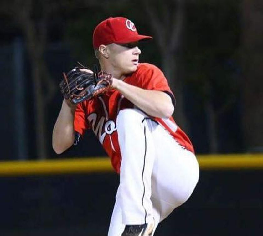 Spruce Grove, Alta., native and former Parkland Minor Ball Association player Jesse Poniewozik signed with the Edmonton Prospects of the Western Major Baseball League on Dec. 25. Photo Credit: Spruce Grove Examiner