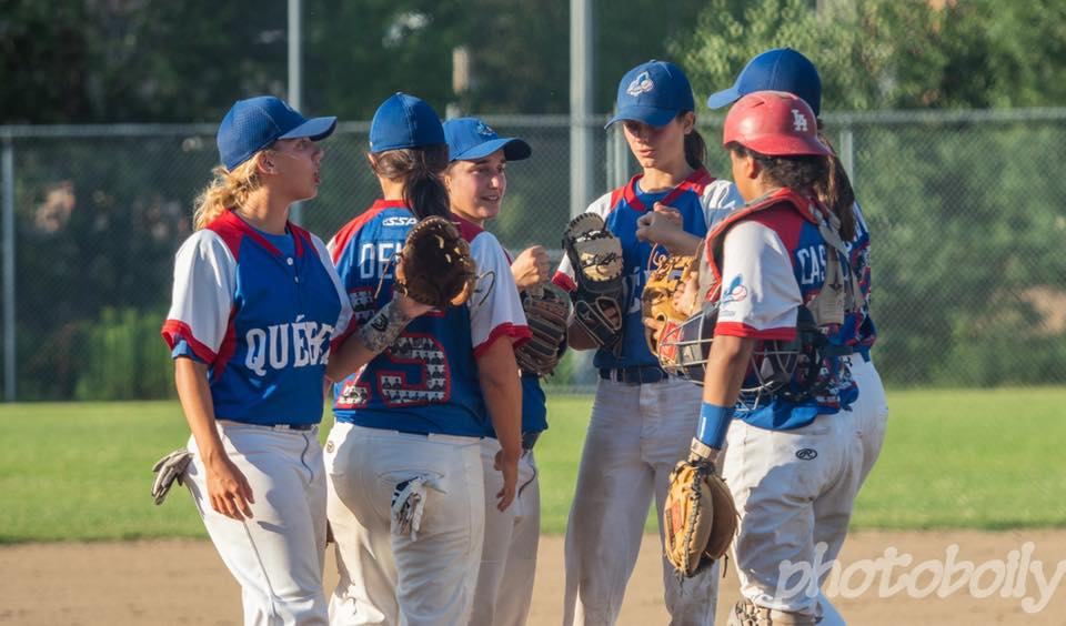 Baseball Quebec is in the second year of an ambitious strategic plan to grow girls'/women's baseball in the province. Photo Credit: Baseball Quebec.