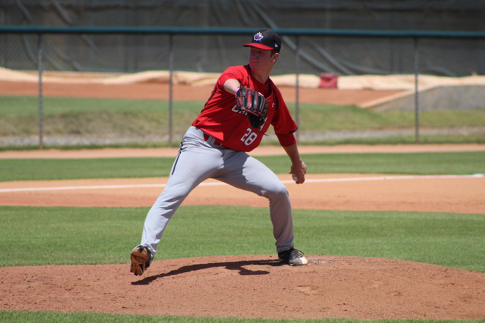 Toronto Mets and Junior National Team LHP Keegan Pulford-Thorpe (Newmarket, Ont.).
