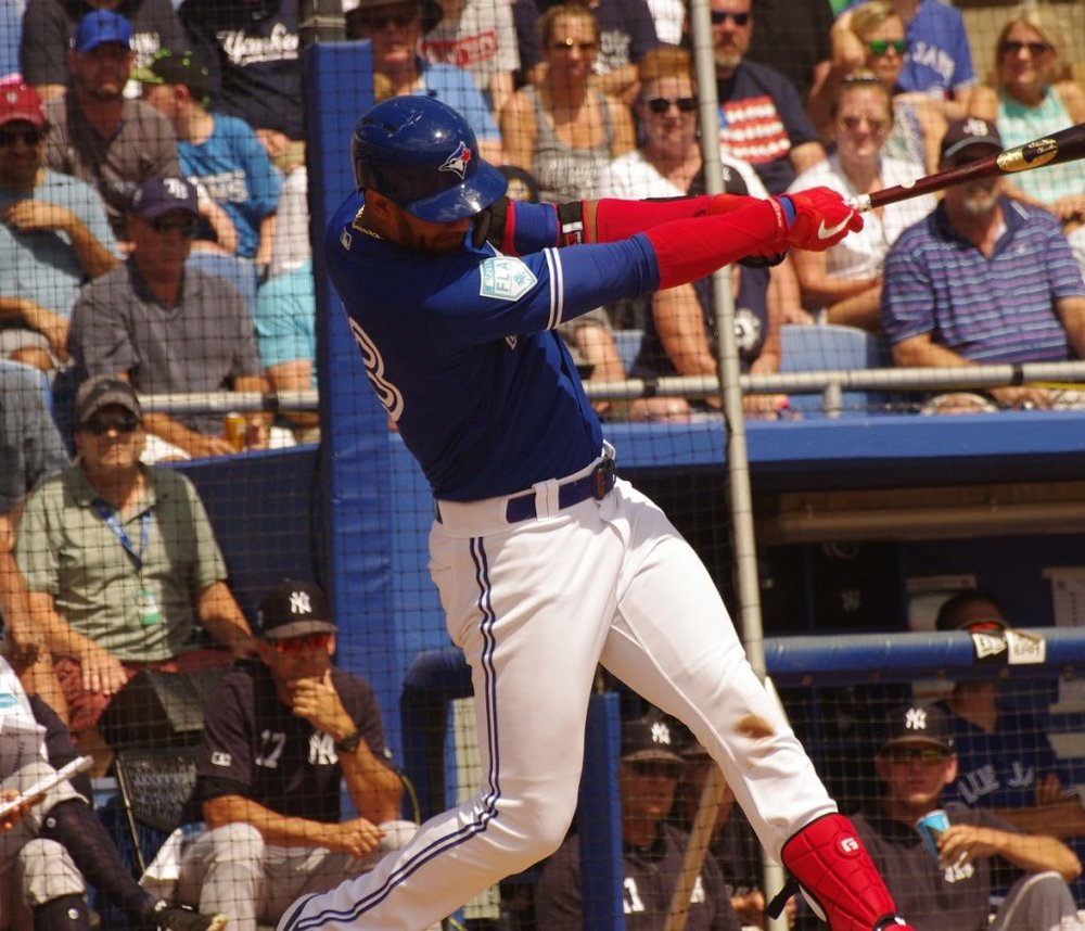 Lourdes Gurriel Jr. was one of four Toronto Blue Jays to go deep in the club's 13-6 loss to the Philadelphia