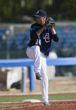 D-Backs Langley Blaze alum Colby Ring tossed 1 1/3 scoreless innings in two appearances with Johnson County.