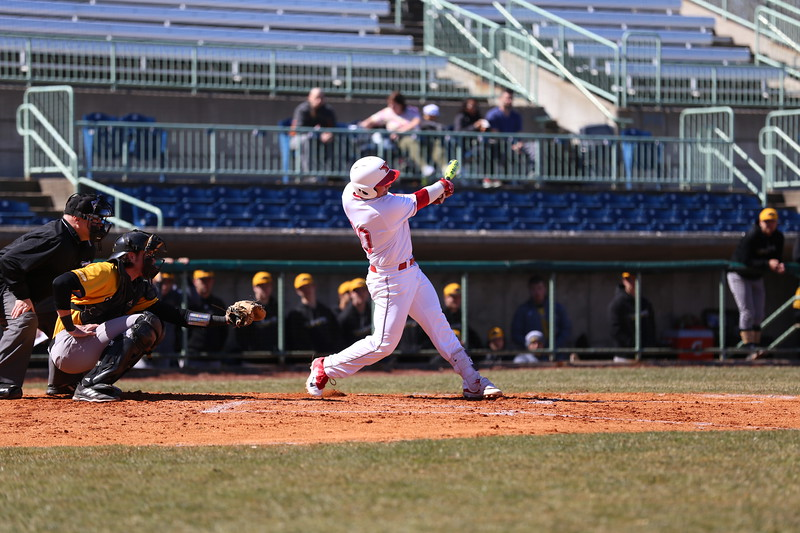 Fort McMurray Giants alum Drew Dickerson (Port Hope, Ont.) went 5-for-12 (.417 batting average) for Youngstown State. Photo: Youngstown State Athletics