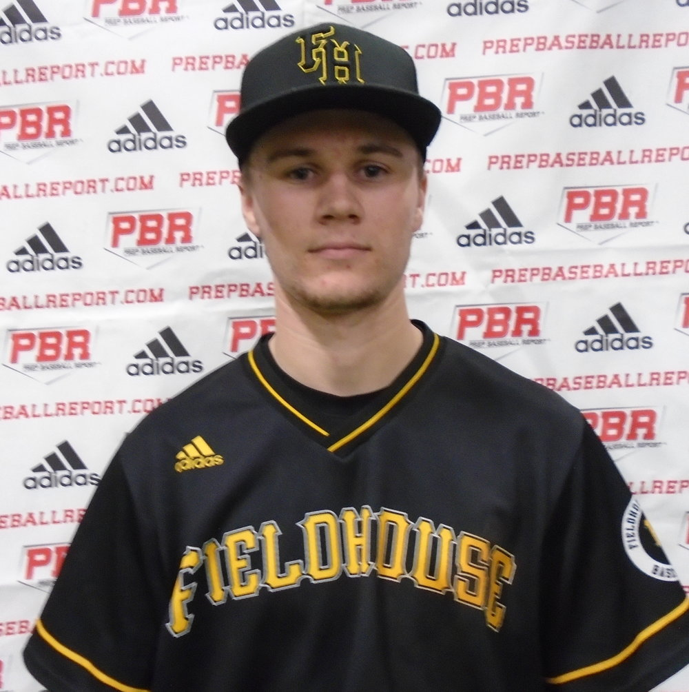 Fieldhouse Pirates grad Brett Graham (Burlington, Ont.) had five hits and a .417 batting average in four games for Bryant & Stratton. Photo: Prep Baseball Report