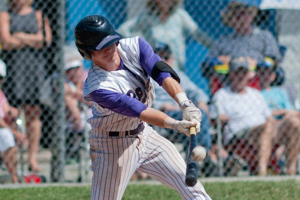 Parksville Royals alum Thomas Green (Courtenay, B.C.) had six hits in 10 at bats for Cuesta College. Photo: Comox Valley Record
