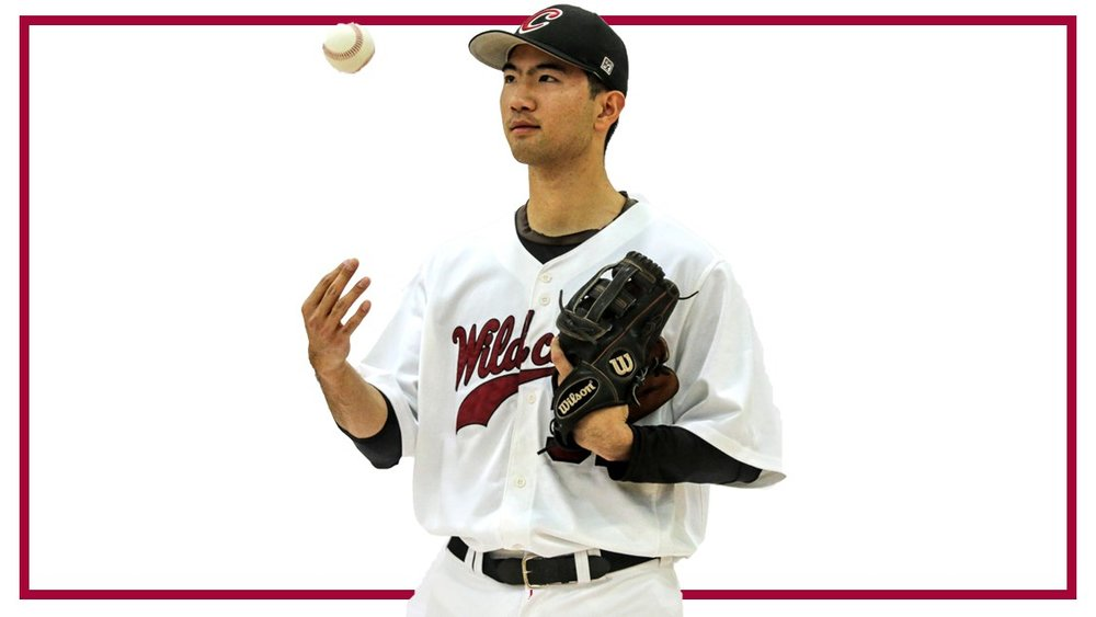 Langley Blaze grad Yi-an Pan (Langley, B.C.) had five hits - including a home run - and five RBIs in four games for the Central Washington Wildcats. Photo: Central Washington Athletics