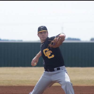 Prospects Academy grad Tylor Jans (St. Albert, Alta.) allowed two runs and struck out eight in five innings in his start for Cloud County. Photo: Twitter