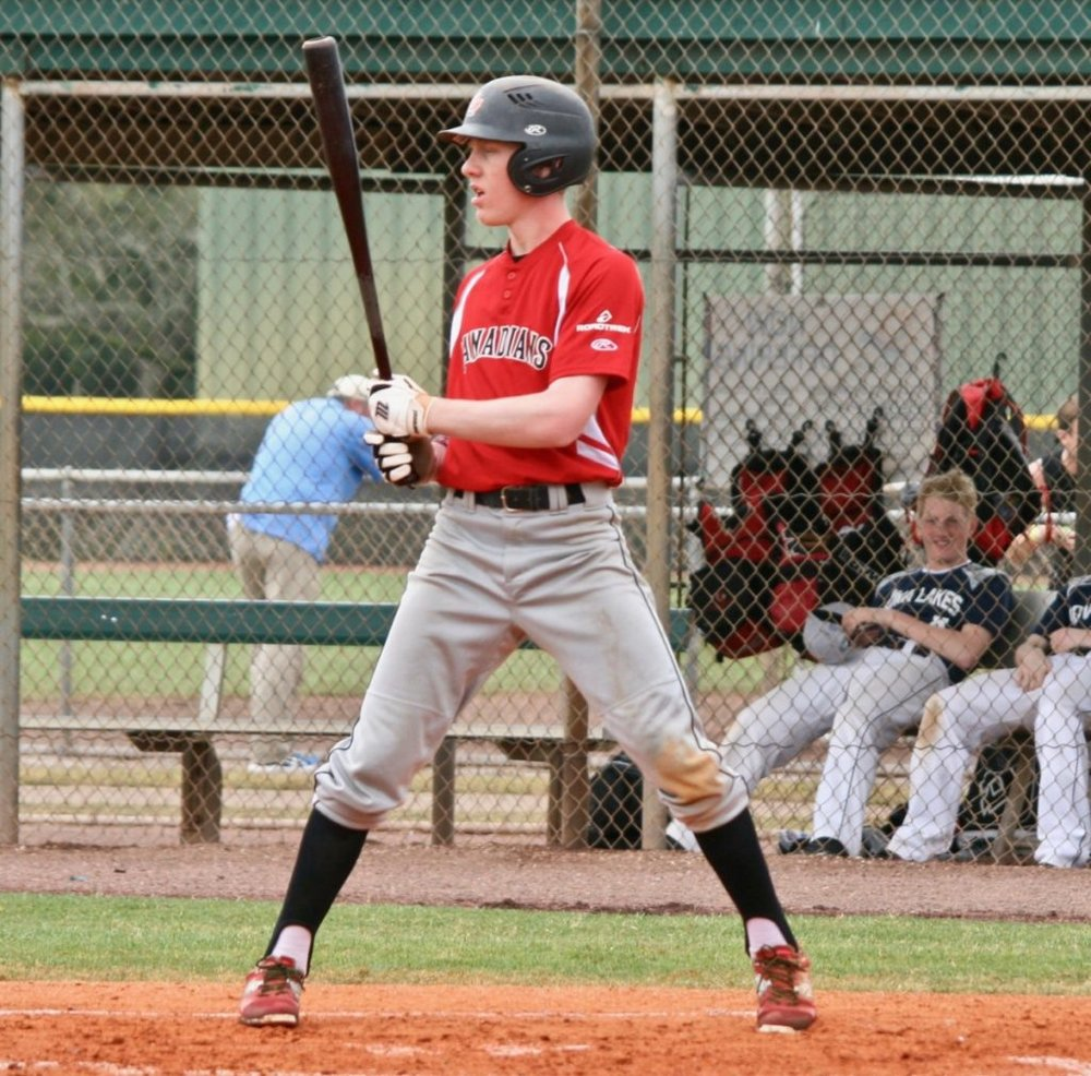 Great Lake Canadians alum Noah Myers (Wyoming, Ont.) went 11-for-22 (.500 batting average) with a home runs and six RBIs for Wabash Valley. Photo: Twitter.