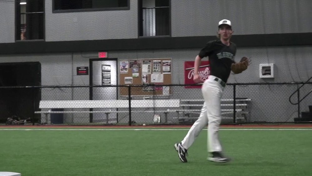 Ontario Terriers grad Zachary Rachar (Tillsonburg, Ont.) had four hits in eight at bats for Mohawk Valley. Photo: YouTube