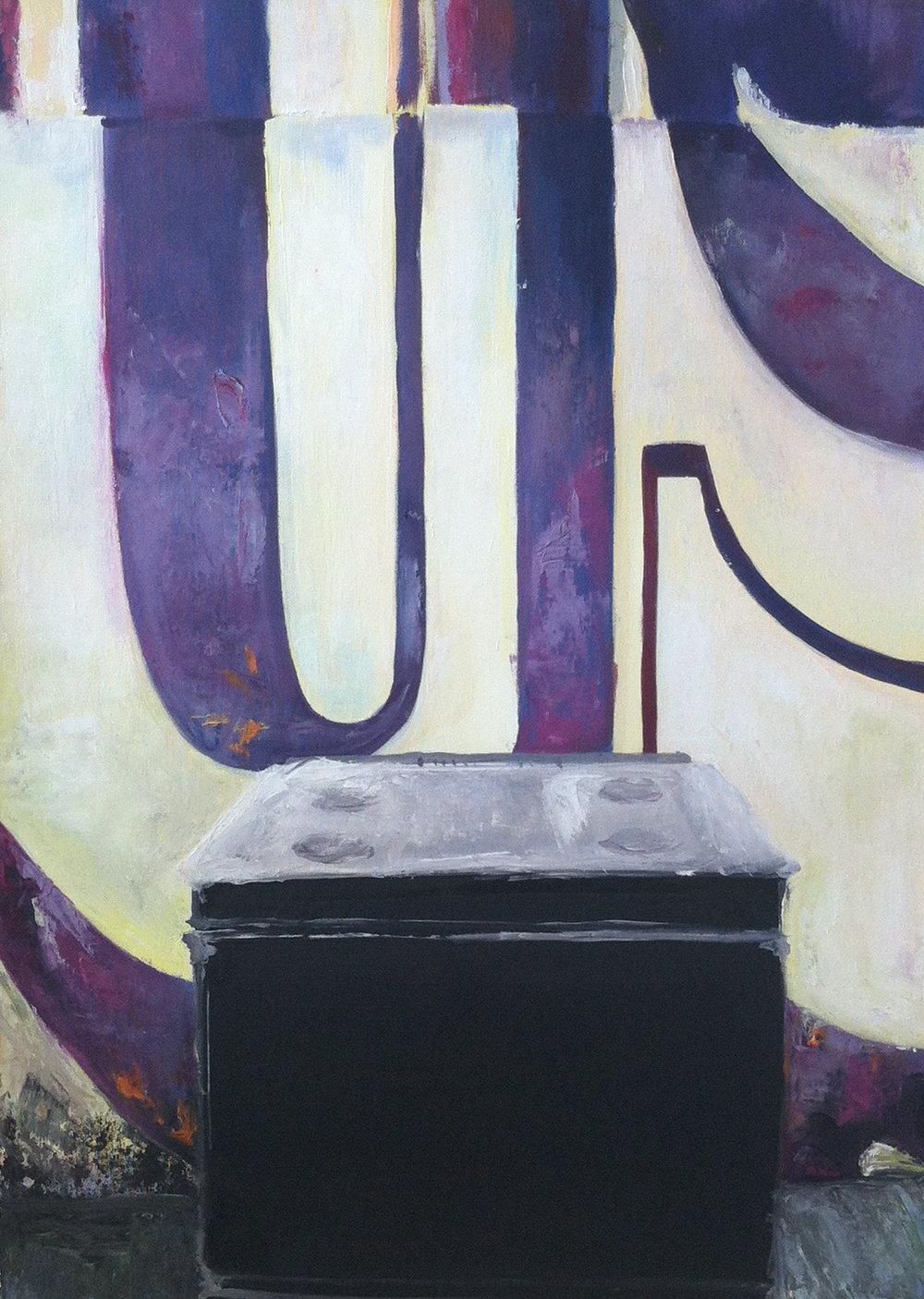 abandoned  acrylic on canvas  2009