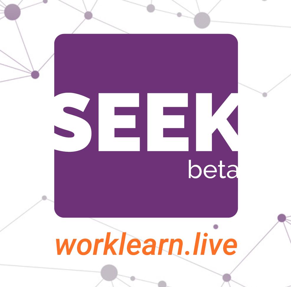 SEEK beta pin design for  Skills USA  event.