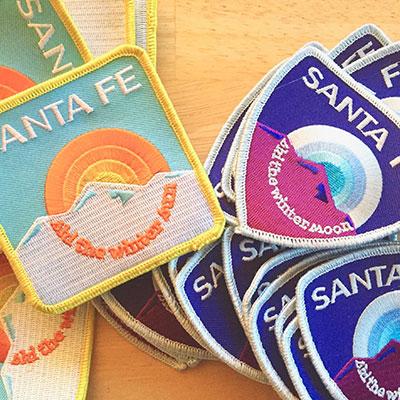 Ski Santa Fe Patches