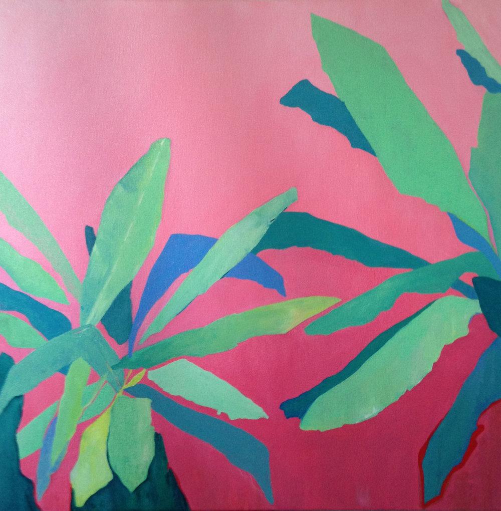 foliage: pink