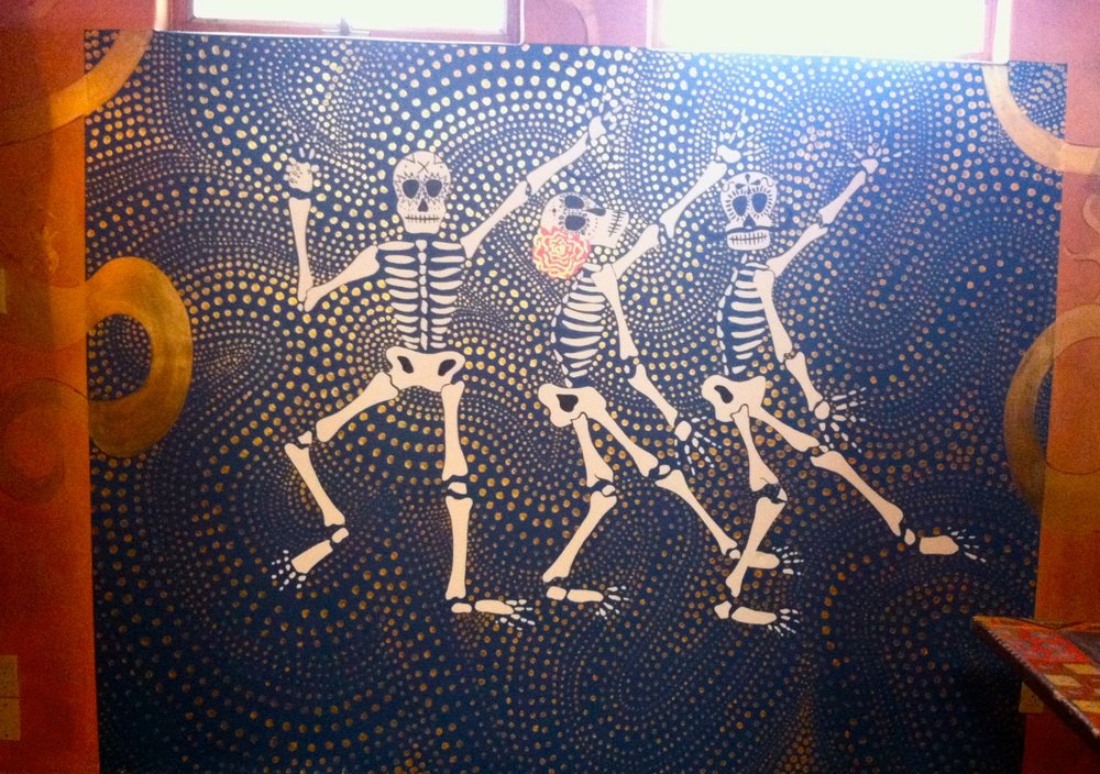 The Dragon Room Dancing Skeletons