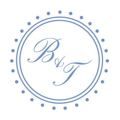Bonar & Tristan Wedding Logo