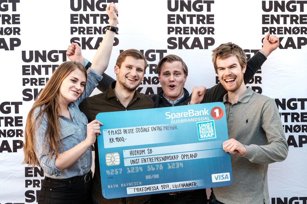 Fylkesmessa for ungdoms- og studentbedrifter 2017 - Ungt Entreprenørskap Oppland