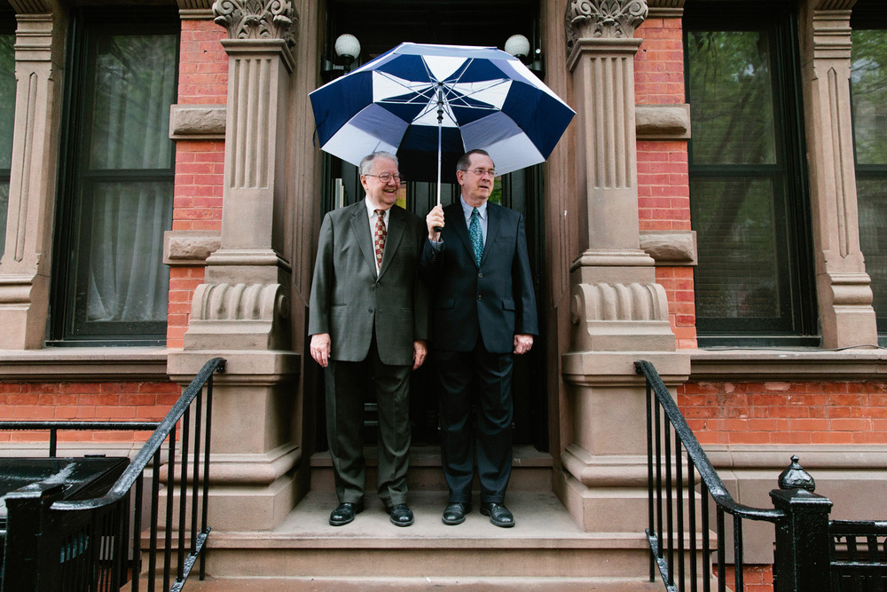 "Ray Duran and Dale Shields, together for almost 50 years, have lived in New York City's West Village since the 1960's. In Ray's words, meeting Dale was ""love at first sight"". When gay marriage became legal in 2011, they were one of the first couples to wed at City Hall."