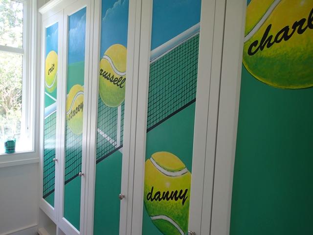 Tennis Lockers