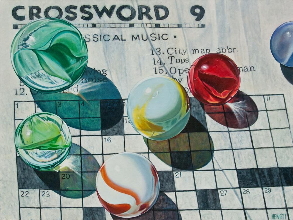 Marbles on Crossword