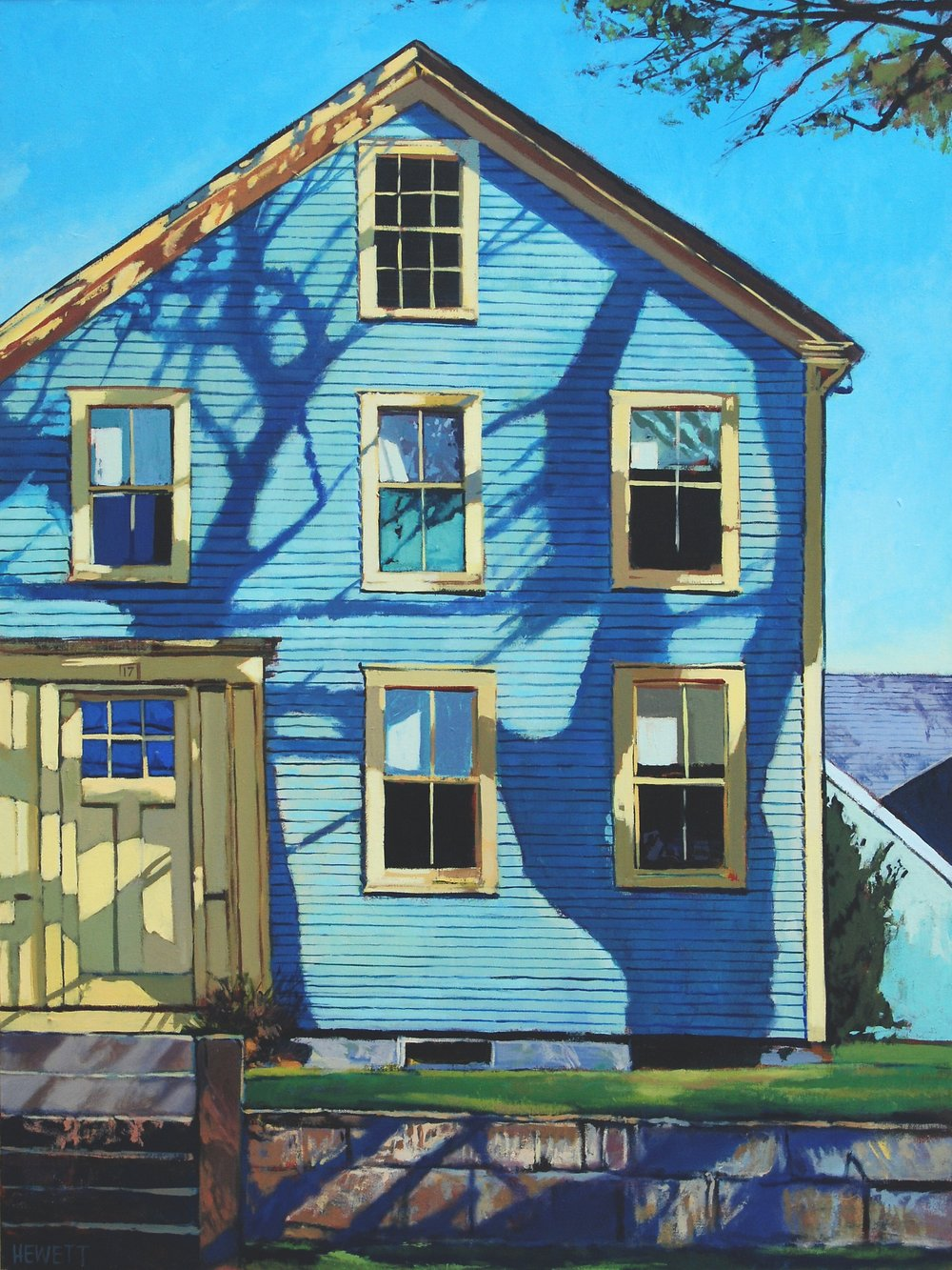 Blue House - Woods Hole