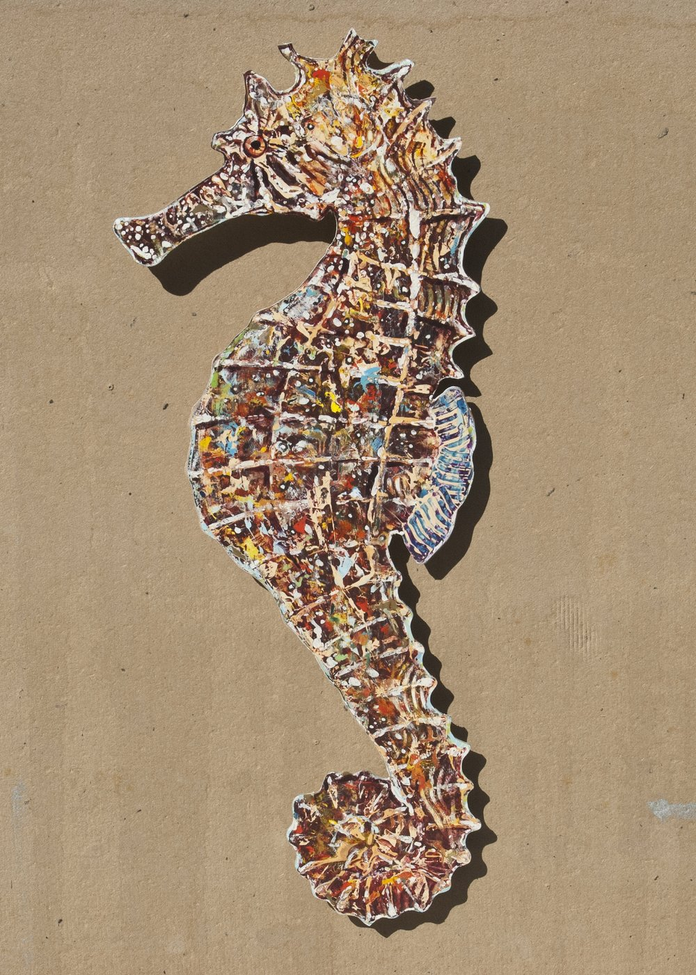 Seahorse, abstract