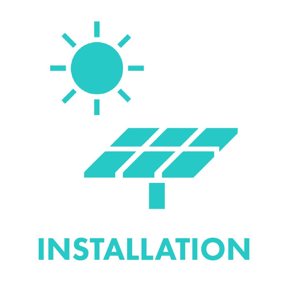 solar system installation - SunFarmer