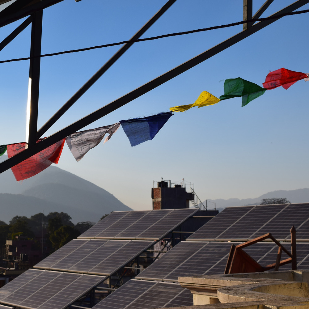 SunFarmer installed an 18kW solar energy system for the Andrew J. Wilde Institute, an A-Level College in Kathmandu. With solar, they plan to expand to university-level programs.