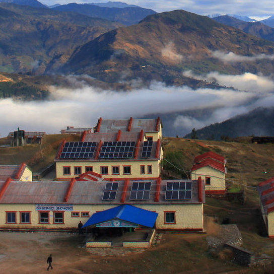 We are currently working on a 100kW solar energy system at Bayalpata Hospital in Achham, with our partners Nyaya Health (Possible). It will be the 5th largest system in Nepal.