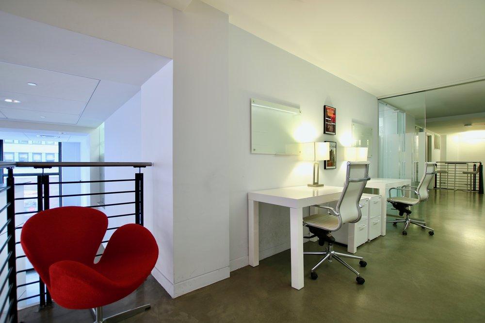 semi-private workspace