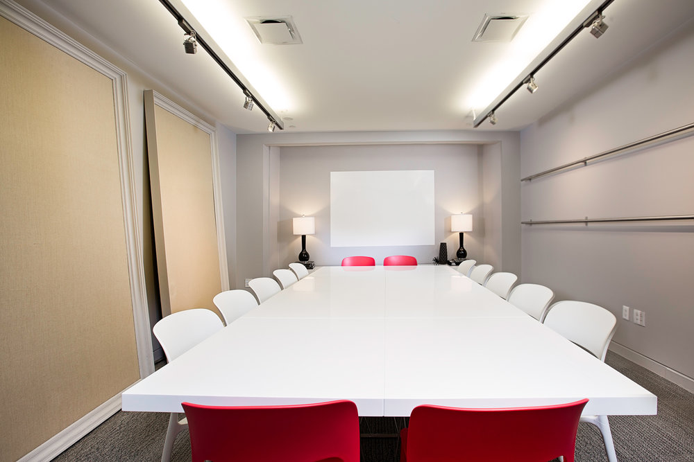 Equipped Meeting Room