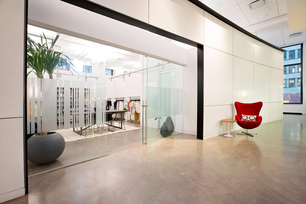 Open Showroom Space