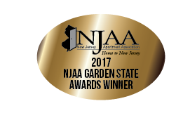 2017 Winner of NJAA Award for Curb Appeal