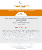 Moderna Therapeutics - Kate Wilson