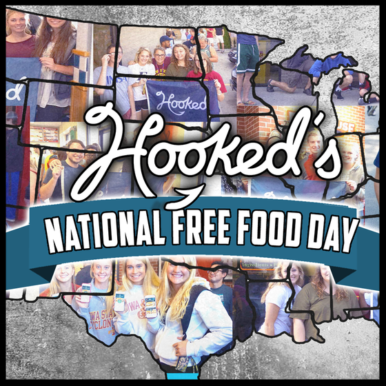 HOOKED'S NATIONAL FREE FOOD DAY
