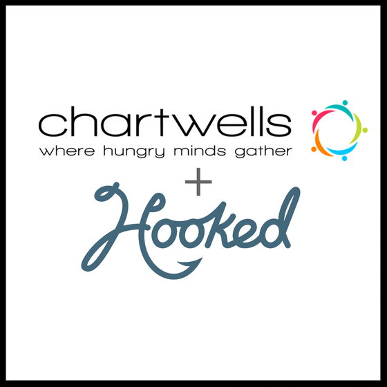 CHARTWELLS PARTNERS With HOOKED ON COLLEGE CAMPUSES