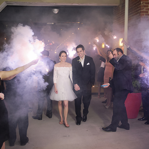 Wedding Sparkler Send Off Tips! | Capture Create Studios